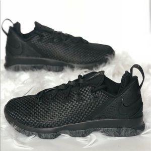 buy popular 79039 dd88a Nike LeBron James XIV Low sz 10 Black NWT